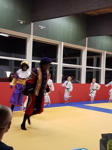 Zwarte pieten bij Judo 30 november 2016