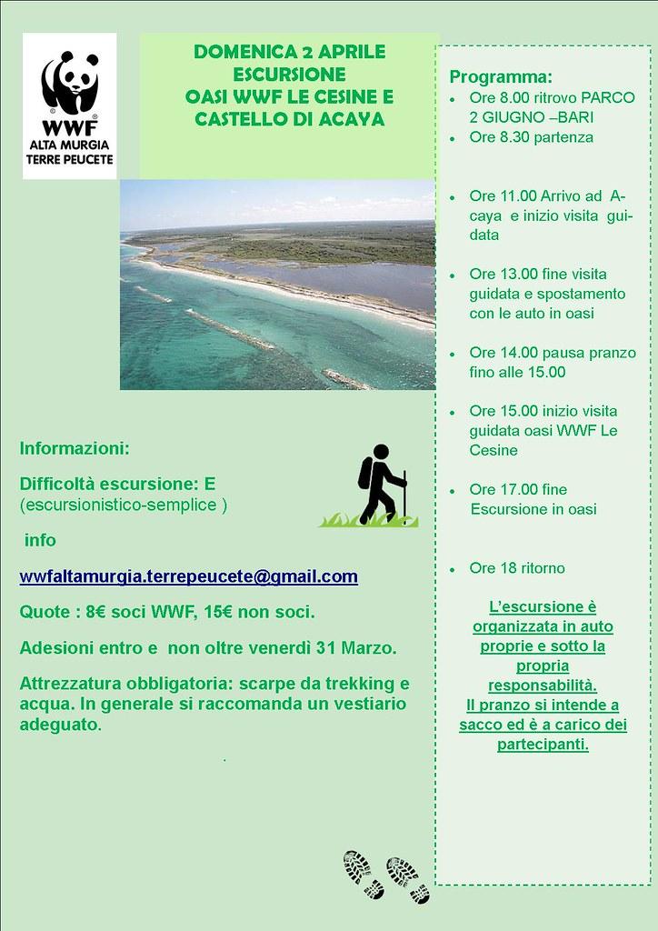 ESCURSIONI WWF ALTA MURGIA
