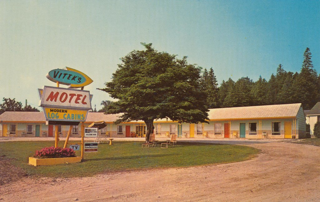 Vitek's Motel - St. Ignace, Michigan