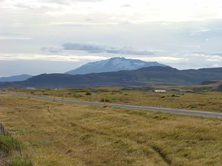 005 Hekla vanaf parkeerplaats N1 aan weg 32