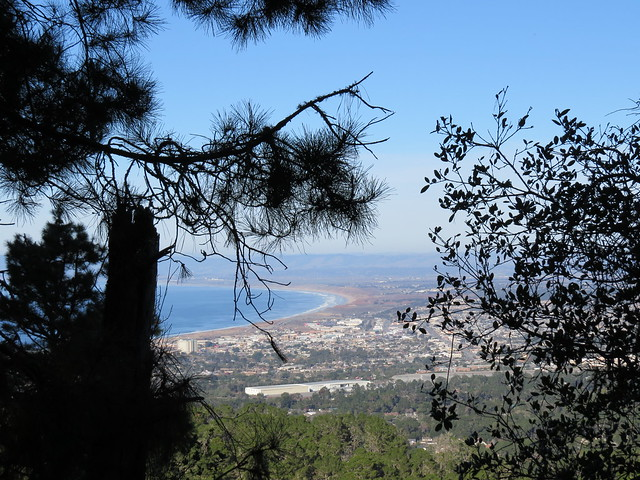 View of Monterey Bay from Jacks Peak County Park
