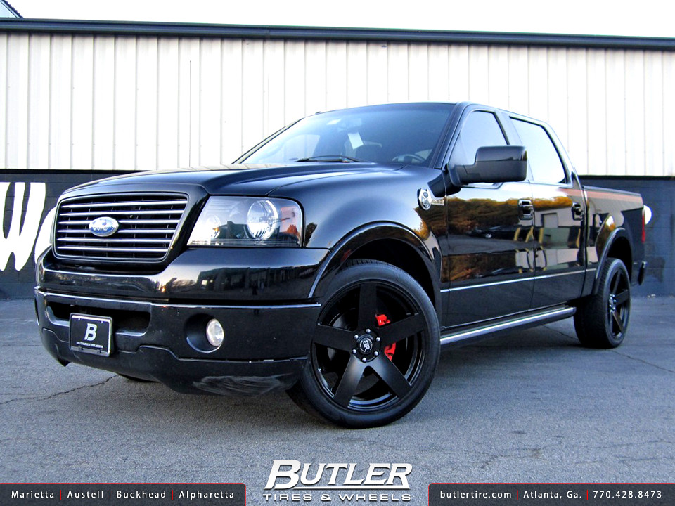 Ford F150 With 22in Black Rhino Everest Wheels Additional Flickr