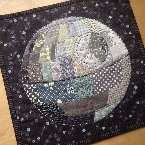 Patchwork Death Star | by quirky granola girl