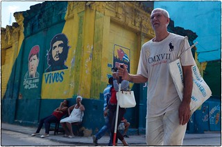 Street Corner With Che and Hugo, Havana, February 13, 2017 | by Maggie Osterberg