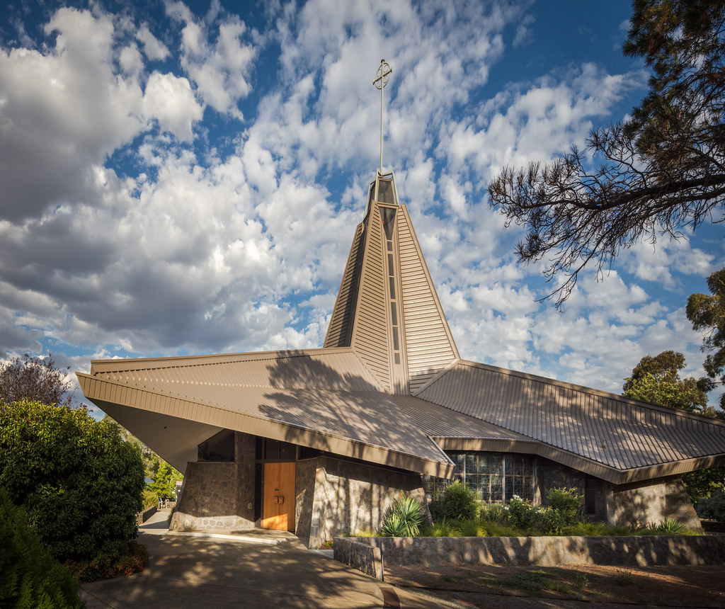 north canberra modernist church