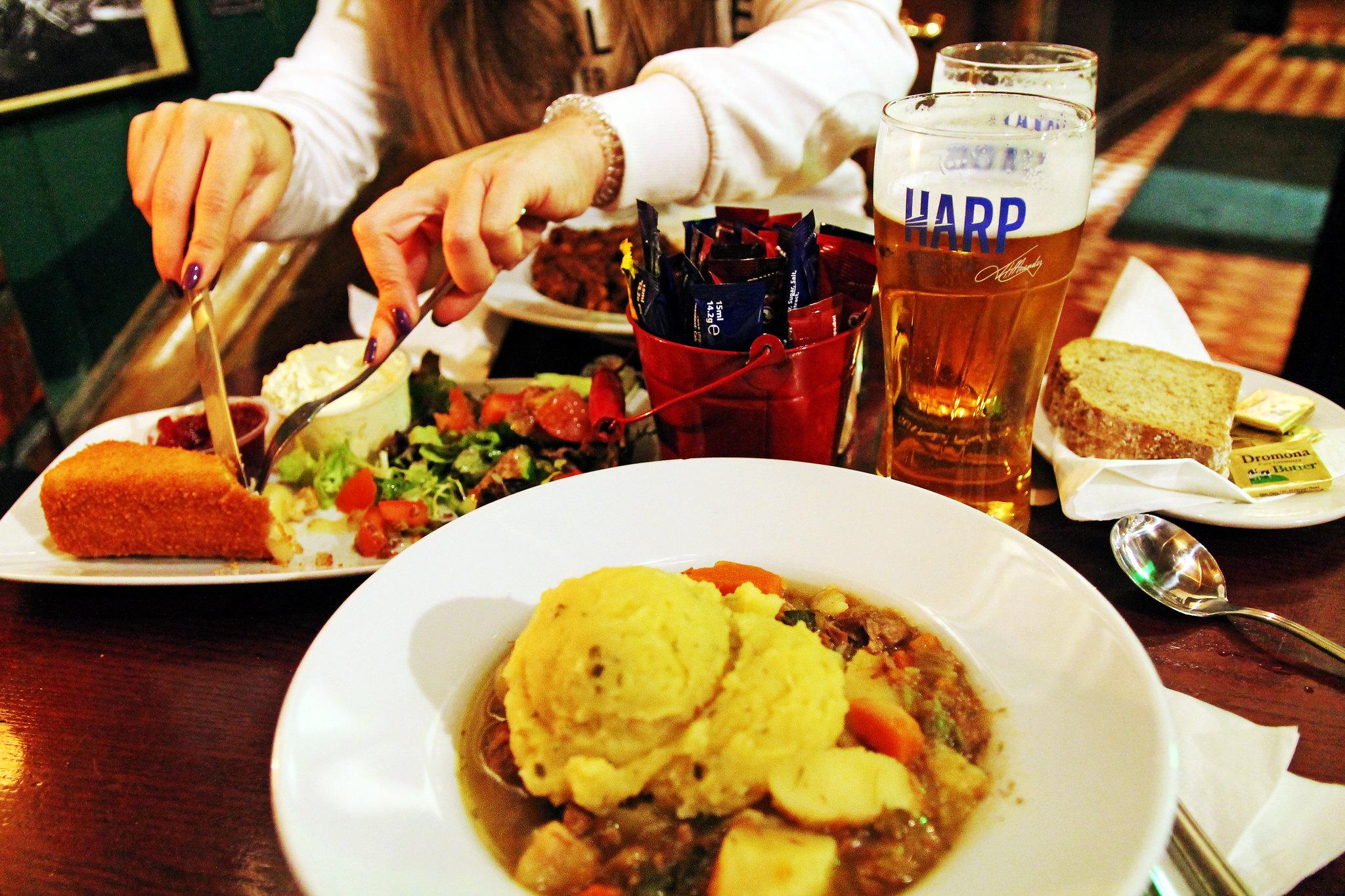 Guia de onde e o que comer em Dublin, na Irlanda