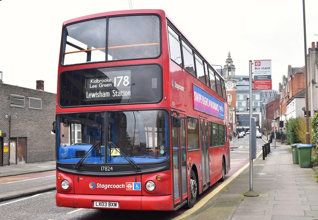 ... Stagecoach London: 17824 | LX03BXW || 178: Lewisham