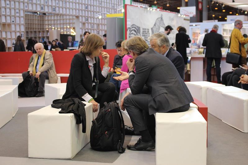 Marie Sellier, Guillaume Husson et Vincent Montagne - Livre Paris 2017