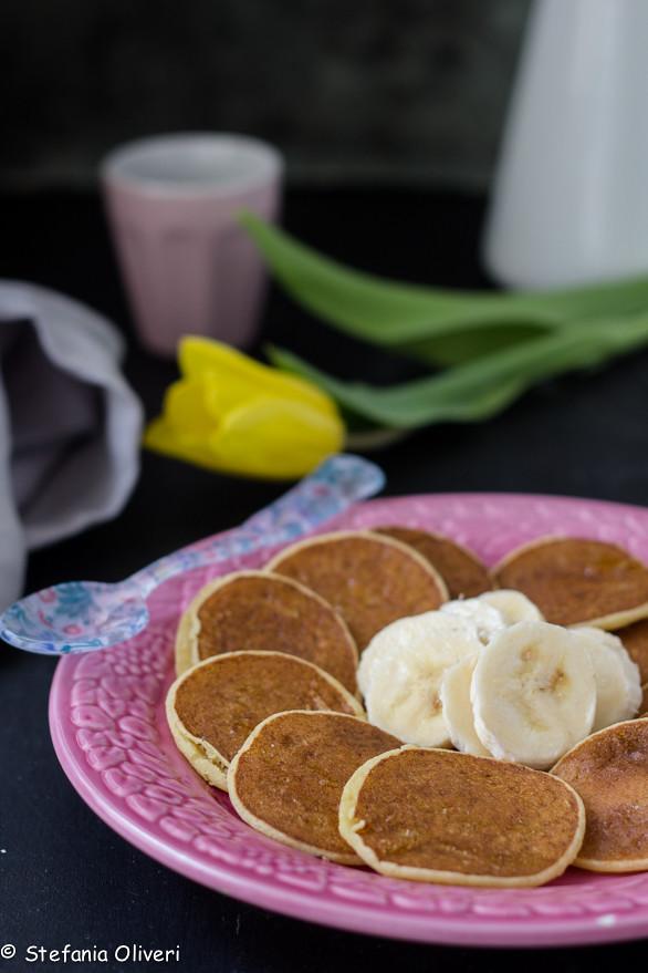 pancake vegan con banane 8238