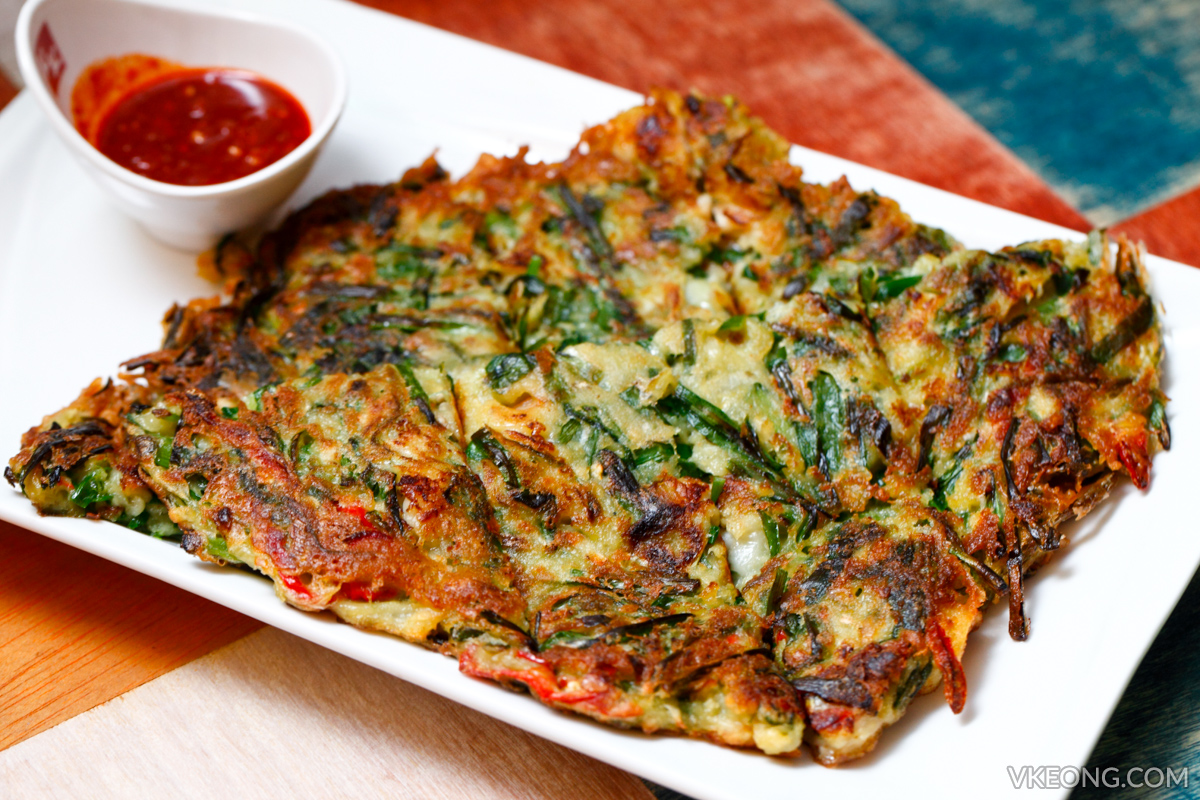 Chicken Up Seafood Pancake