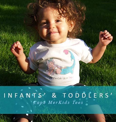 Infants & Toddlers Merkids Tees | by Cape Mermaid