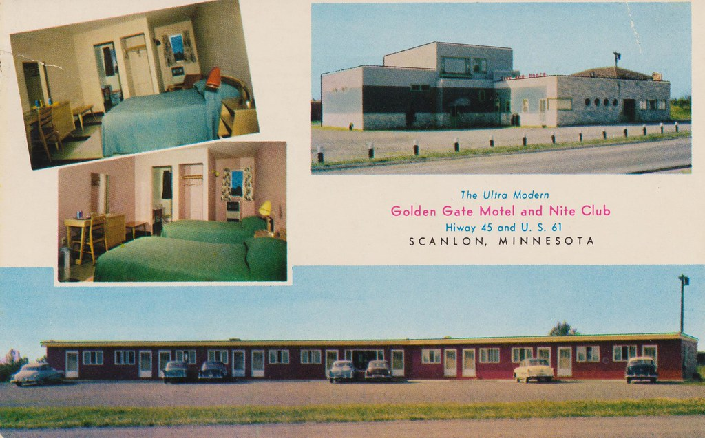 Golden Gate Motel and Nite Club - Scanlon, Minnesota
