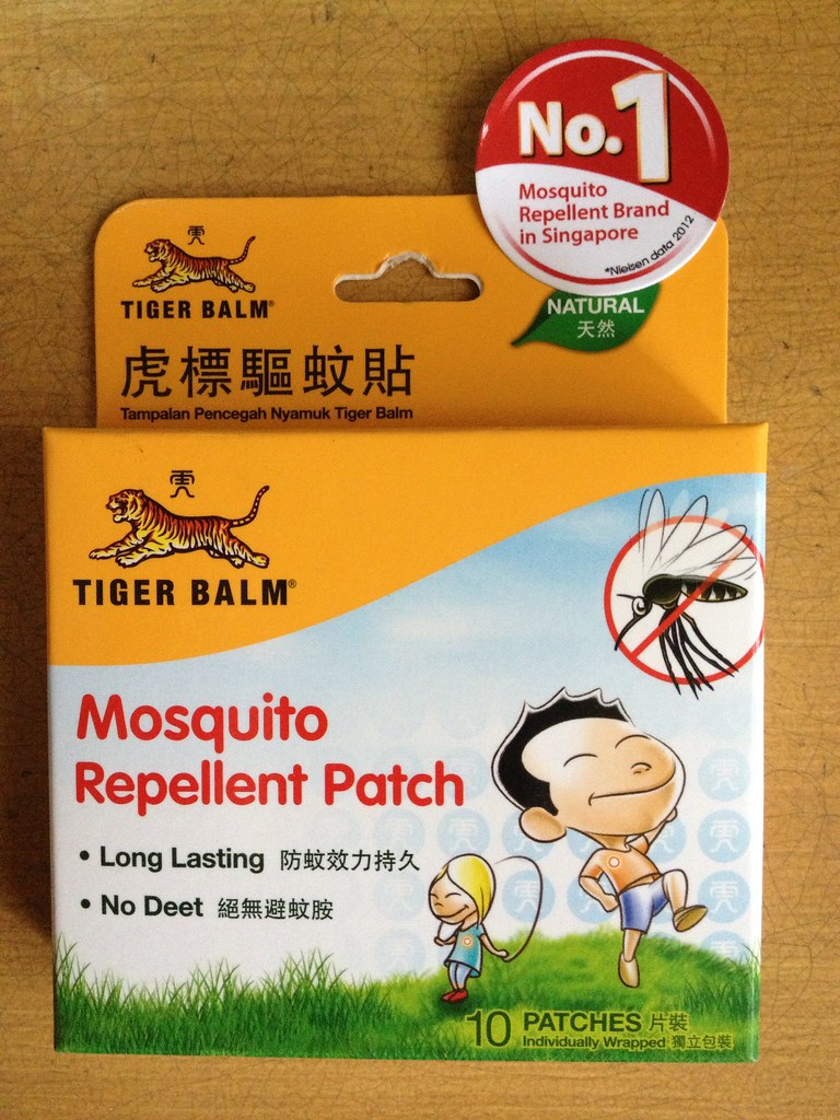 Mosquito Repellent Patch By Tiger Balm Long Lasting And Pr Flickr