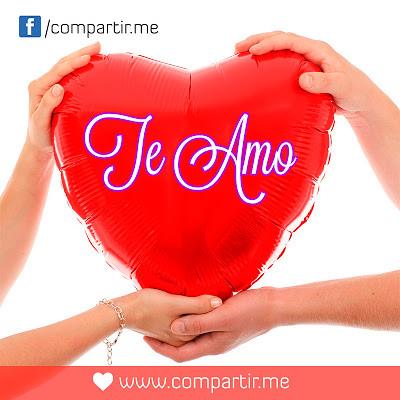 Frases De Amor Globo En Forma De Corazon Con Frase Te Amo Flickr