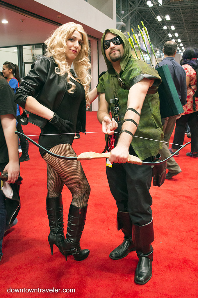 ... NY Comic Con Couples Costume Green Arrow Black Canary | by Downtown Traveler  sc 1 st  Flickr & NY Comic Con Couples Costume Green Arrow Black Canary | Flickr