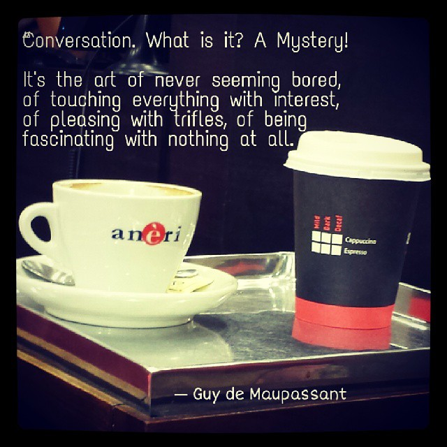 ... #quotes #conversation #writers #coffee #friendship | By Drmonsoon