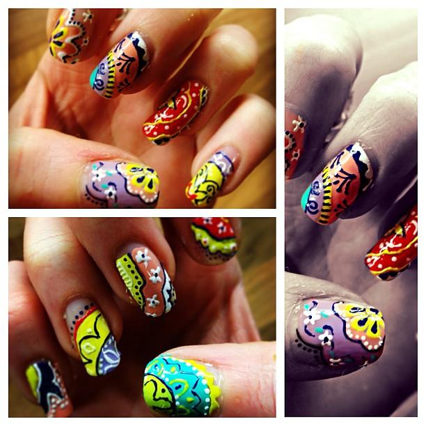 Intricate Little Details Nails Nailart Nailgasm Detail Flickr