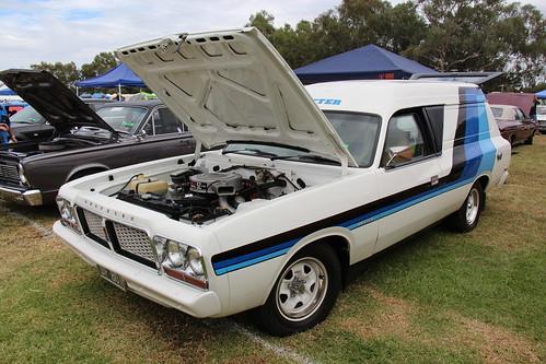 1977 Chrysler Valiant Cl Drifter Van Alpine White The