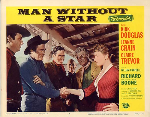 Man Without a Star - lobbycard 2