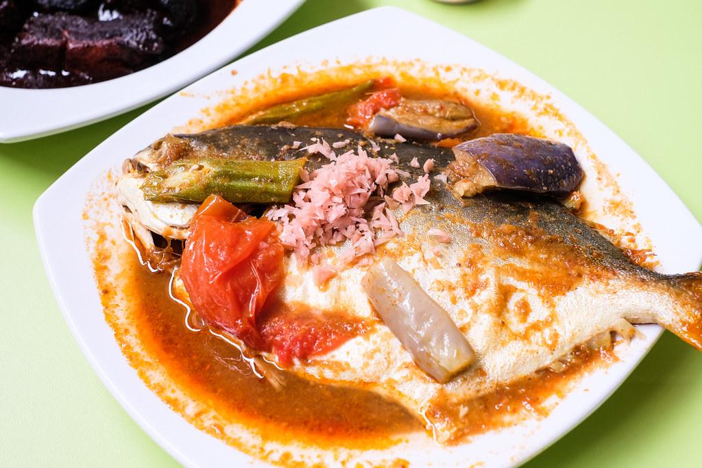 Charlie's Peranakan: Gulai Tumis (Tamarind Fish Curry)