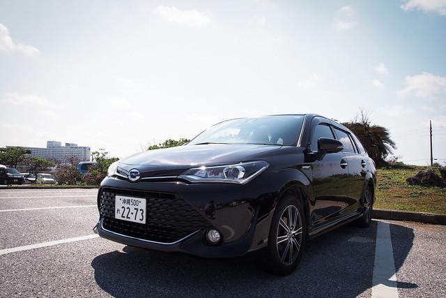 Toyota Corolla Fielder | 沖繩OTS租車