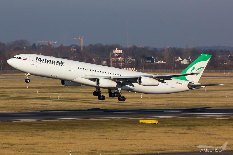 Mahan Air - A343 - EP-MMD (2)