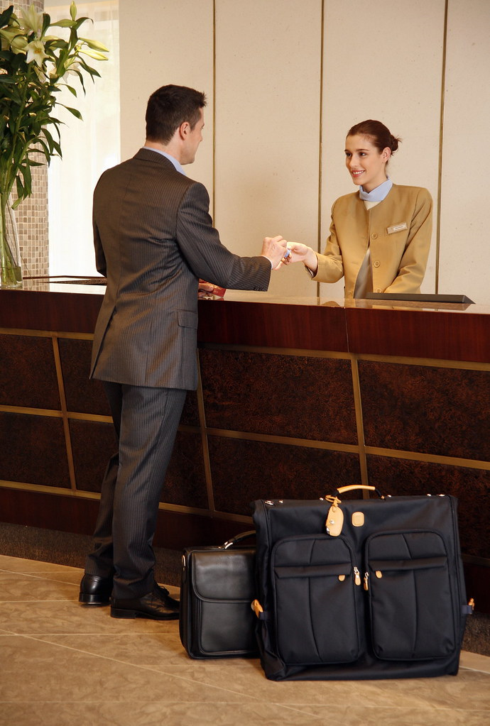 hotel receptionist - Ex
