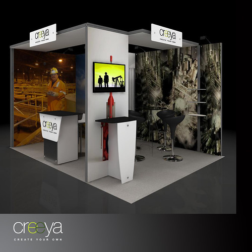 Modular Exhibition Booth : Exhibition booth design creeya is the