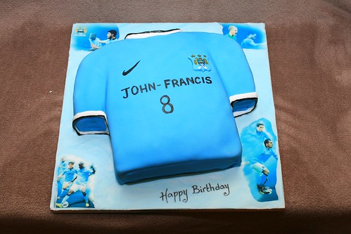 Manchester City Cake Decorations