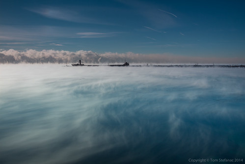 Lake Ontario Steaming | by Vaughan Weather