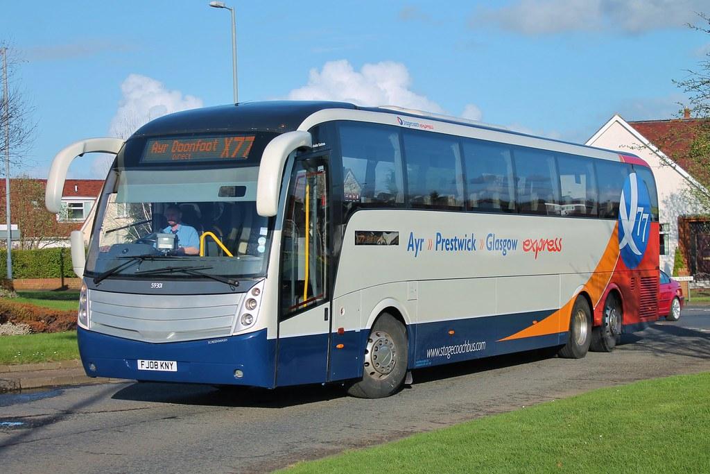 ... Stagecoach Western 59301 FJ08KNY | by Western Scottish Buses