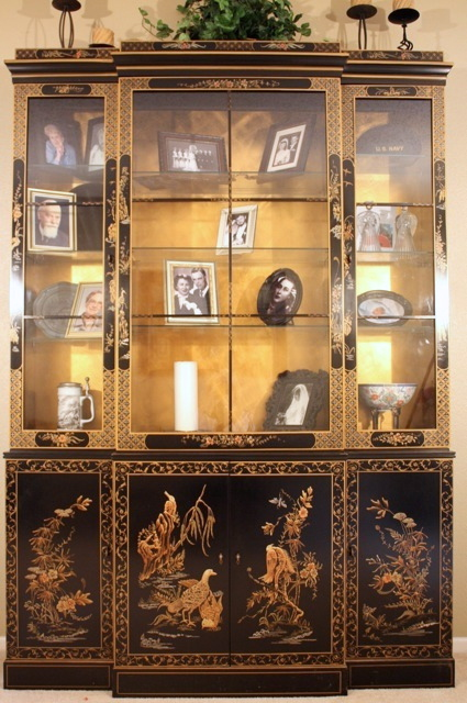 Bon DIY China Cabinet | By Ohhappyheights DIY China Cabinet | By Ohhappyheights