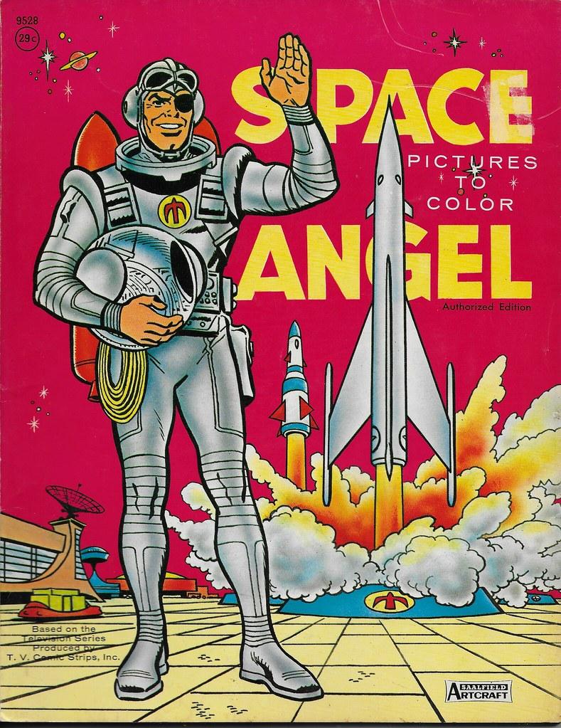 Space Angel Coloring Book (Saalfield 1963) | donald deveau | Flickr