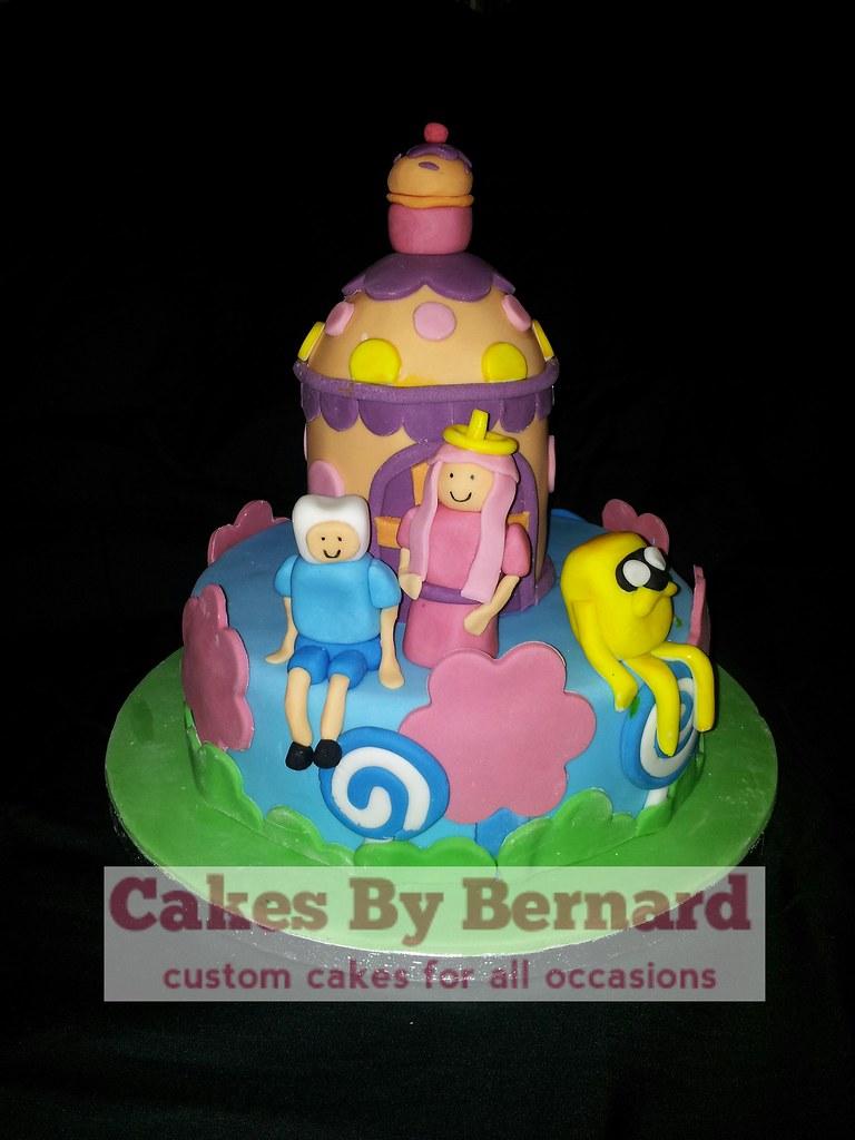 Adventure Time Grooms Cake Bernard Mckeaveney Flickr