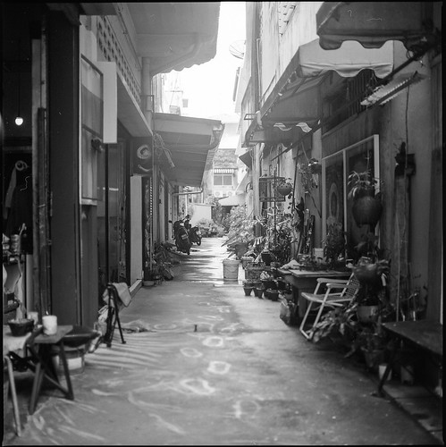 Phuket Town Back Alley | by Hixair