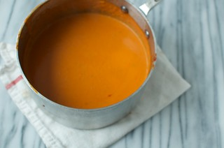 finished tomato soup | by Marisa | Food in Jars
