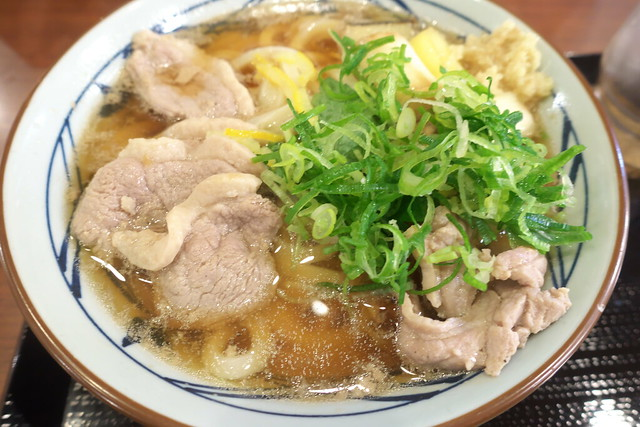 丸亀製麺 鴨ねぎうどん_01