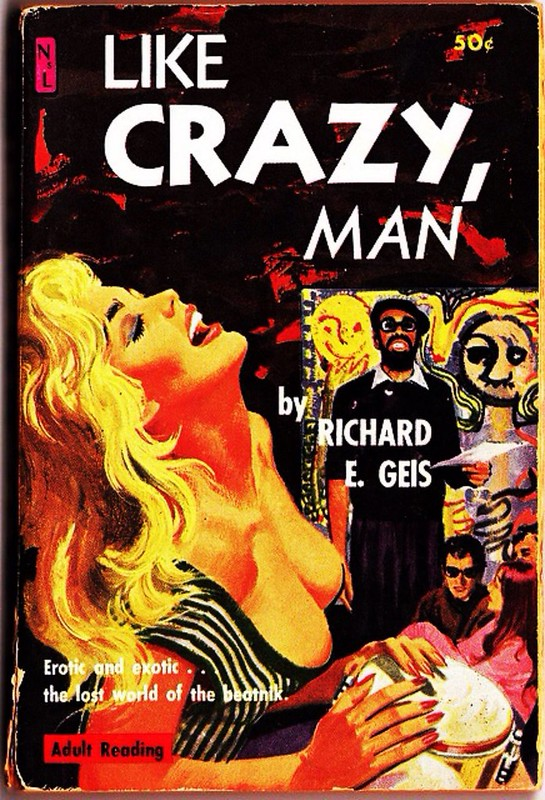 Like Crazy Man --Richard E. Geis | by kevin63
