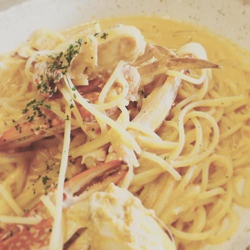 本日は卒園式のためお休み ワタリガニを食べに高津まで