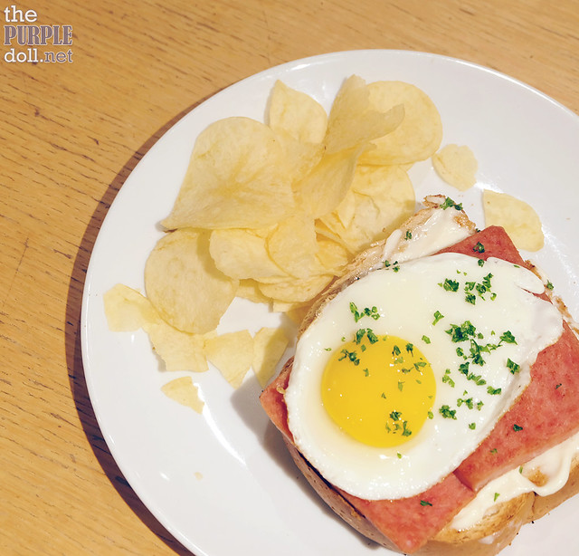 Spam and Egg Toasties (P210)
