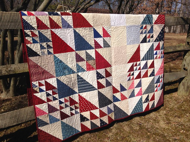 Quilt of Valor - October 2016 Faith Circle Quilt