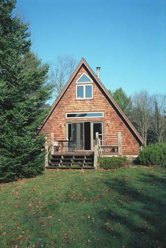 A Frame Cabin Adirondacks Upstate New York Stefy Flickr