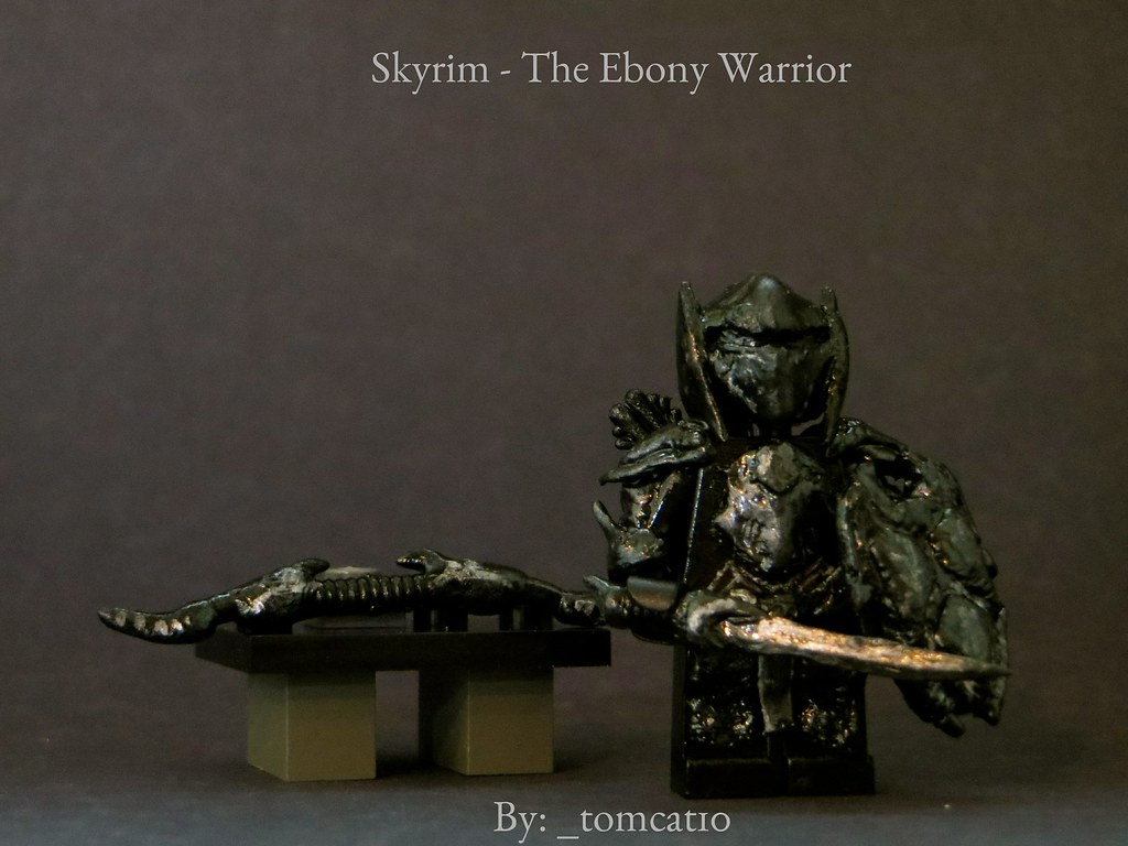 Skyrim the ebony warrior