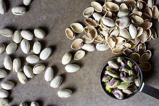 salted pistachios, shelling and shelling | by smitten kitchen