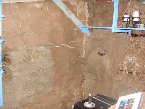 Base Coat Plaster : Base coat interior plaster random batches of soil from