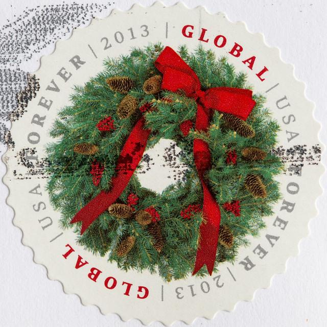 Usa 2013 Global Forever Stamp Mark Morgan Flickr