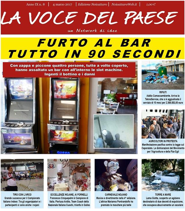 Noicattaro. Prima pagina n. 8-2017 intero
