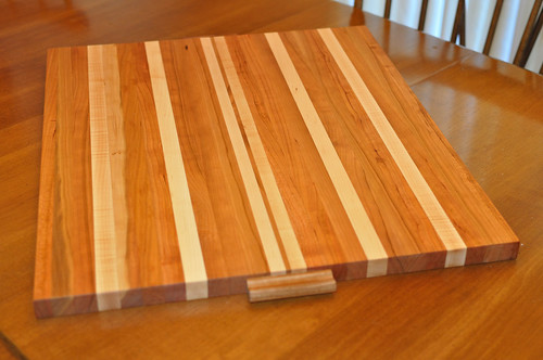 Cherry and maple cutting board harold bowern photography