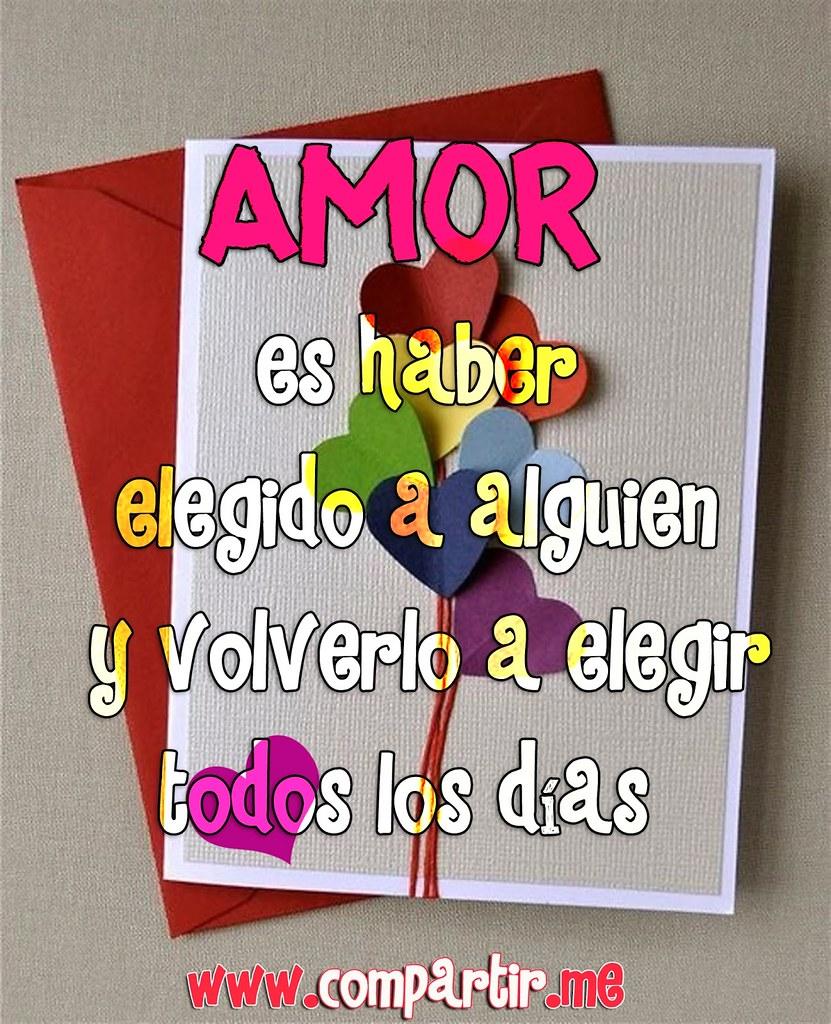 Frases De Amor Hermosa Tarjeta Con Frase De Amor Para Com Flickr
