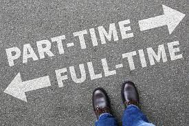 part time full time